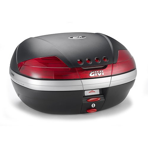 (Givi V46NF 46 Liter Monokey Motorcycle Top Case With Integrated Brake/Stop Light)