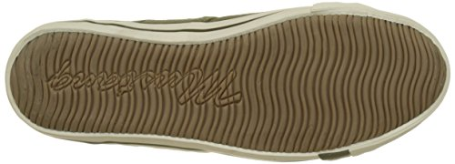 Mustang 4058-401 Herren Sneakers Grün (Khaki)