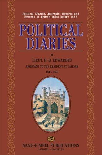Political Diaries of Lieut. H. B. Edwardes