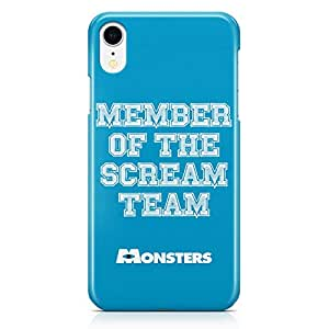 Loud Universe Scream Quote Monsters University iPhone XR Case Monsters Inc iPhone XR Cover with 3d Wrap around Edges