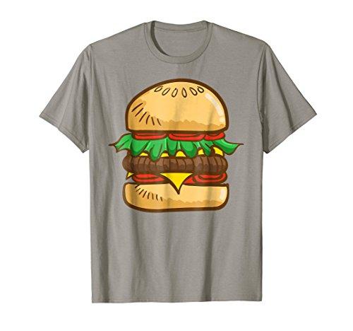 Burger Shirt GIANT CHEESEBURGER Perfect Halloween Costume -