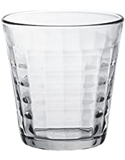 Duralex 1033AB06C0111 Prisme dricksglas, vattenglas, juiceglas, 275 ml, glas, transparent, 6 stycken