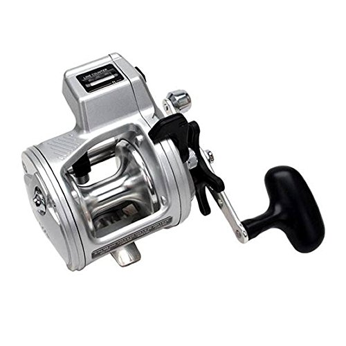 Daiwa Accudepth Plus-B Line Counter Levelwind Fishing Reel (Silver, 27)