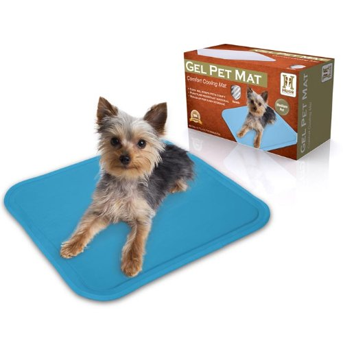 Hugs Pet Products Chilly Mat Comfort Cooling Gel Pet Mat Medium (19.5 x 15.7)