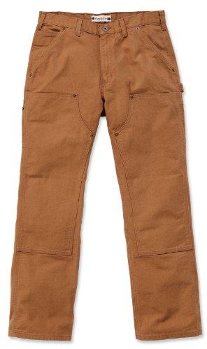 Carhartt EB136 Double Front Work Jeans schwarz schlanke B01 Herrenhose (W30/L32, carhartt-braun) carhartt-braun
