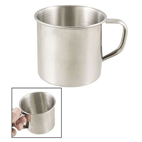 Camping Coffee Cup Large Soup Drinking Mug Stainless Steel S