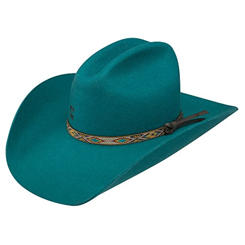 Charlie 1 Horse CWTWIT-2540 Teal With It Hat, Teal - 6 3/4 by Charlie 1 Horse