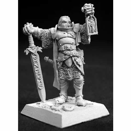 Marcus Gideon Crusaders Hero Miniature 25mm Heroic Scale Warlord Reaper Miniatures