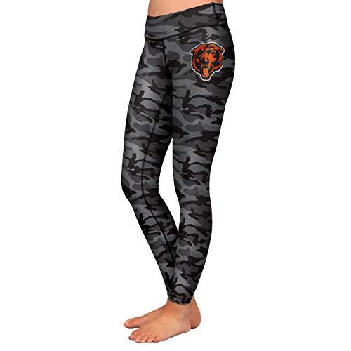 FOCO NFL Chicago Bears Womens Printed Camo Leggingsprinted Camo Leggings, Team Color, Medium]()