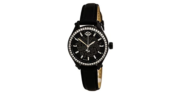 58023a197086 Harley Davidson 78L119 Bulova Flower Power - Reloj de Pulsera para Mujer