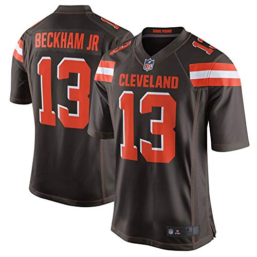 #13 Odell Beckham Jr Cleveland Browns Game Jersey - Brown M
