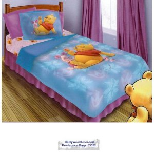 Winnie the Pooh Twin Size 3 Piece Comforter Set