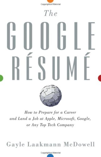buy the google resume how to prepare for a career and land a job