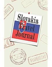 Slovakia Travel Journal: Blank lined diary