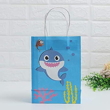 Xinqin Ding Baby Shark fiesta de cumpleaños 10 bolsas de ...