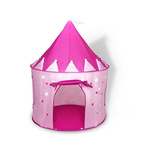 練習ゆるい困惑するLIAN 子供の遊びテント屋外屋内クロール折り畳み式ゲームルームユートの子供のプリンセス蛍光テントグロー