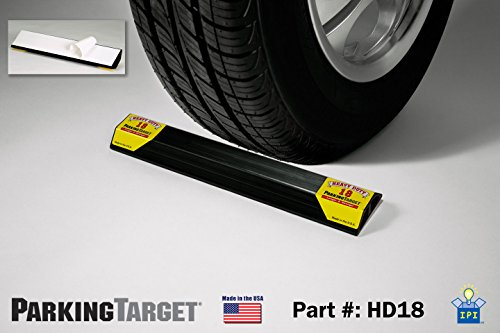 Garage Parking Mat (PARKING TARGET HD18: Heavy Duty ParkingTarget)