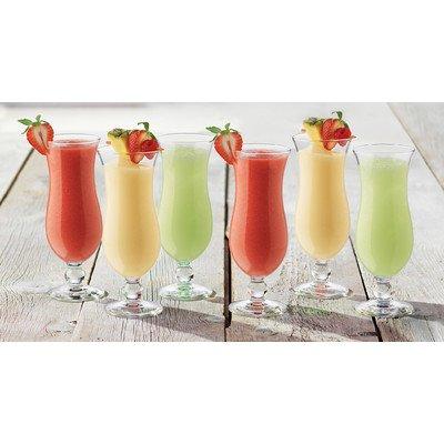 (Summertime 14.5 oz. Hurricane Glass (Set of)