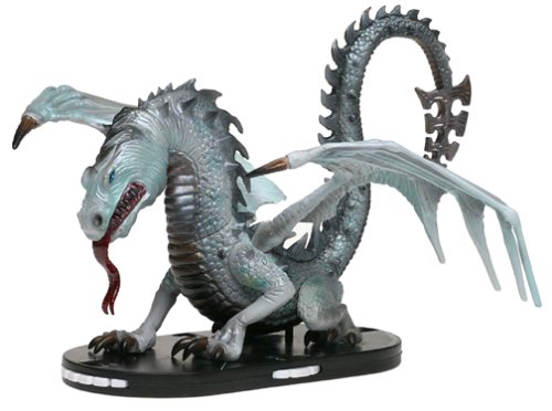 Mage Knight Limited Edition Dragon Figure - Radiant Light Dragon (Knight Mage Dragons)