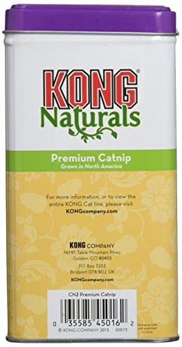 KONG Naturals Premium Catnip, 2-Ounce (Packaging may vary)
