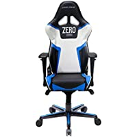 DXRacer OH/RV118/NBW/ZERO Ergonomic, High Quality Computer Chair for Gaming, Executive or Home Office Racing Series Blue / White / Black ZERO