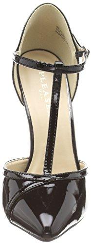 Pleaser Femme Plateforme et à 27 en Noir lanière Talons Chaussures Sexy avec à T rwIprq