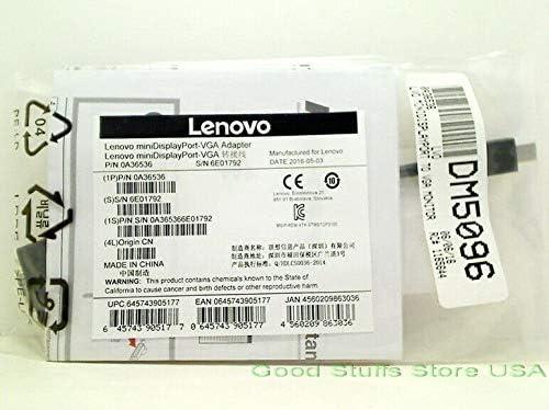 Adapter STM STDP3100 ASM# SC10G74844 FRU# 03X6865 Compatible with Lenovo Mini-DisplayPort to VGA