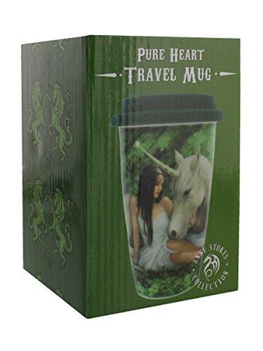 Anne Stokes Pure Heart Travel Mug 13.5cm