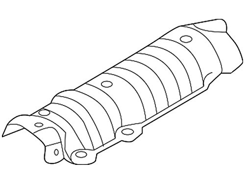 Genuine Nissan 74758-3BA0A Exhaust Heat Insulator