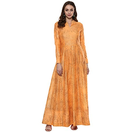 Indian Virasat Kurtis Ethnic Women Kurta Kurti Tunic Multicolouredl Print Top Dress New Casual Wear