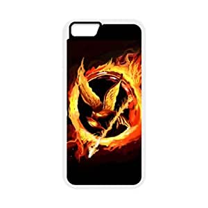 iphone6s 4.7 inch case , Hunger Games iphone6s 4.7 inch Cell phone case White-YYTFG-22622