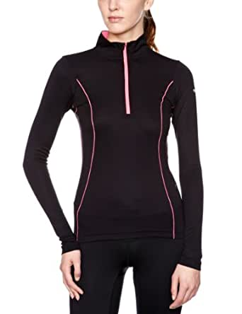 Ronhill Lady Base Thermal Air Long Sleeve Running Top - X Small - Black