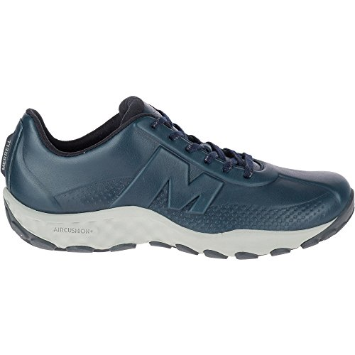 navy Cushioned Sprint Blu Lightweight Trainers Ac J91695 Merrell Lace Leather Mens fw6npq7