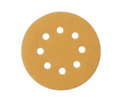 Mestool 58-AP 5-Inch 8-Hole 120 Grit Dustless Hook And Loop Sanding Discs100-pack
