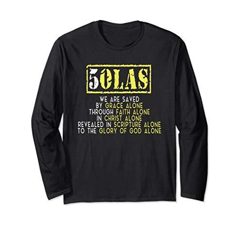 5 Solas Reformed Christian T-shirt (Apparel)