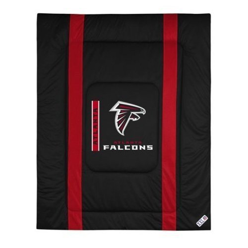 NFL Atlanta Falcons Sideline Comforter Twin (Sports Coverage Nfl Comforter)