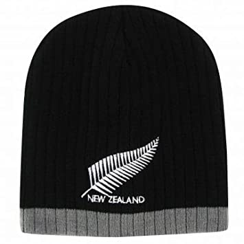 6422e03a906 Image Unavailable. Image not available for. Colour  New Zealand Rugby  Beanie Hat