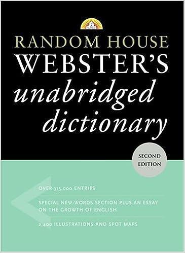 Amazon random house websters unabridged dictionary second amazon random house websters unabridged dictionary second edition 9780375425998 random house books stopboris Images