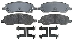 ACDelco 17D1172CH Professional Ceramic Rear Disc Brake Pad Set
