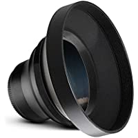 0.43x High Definition Wide Angle Conversion Lens For Sony HXR-NX30 (52mm)
