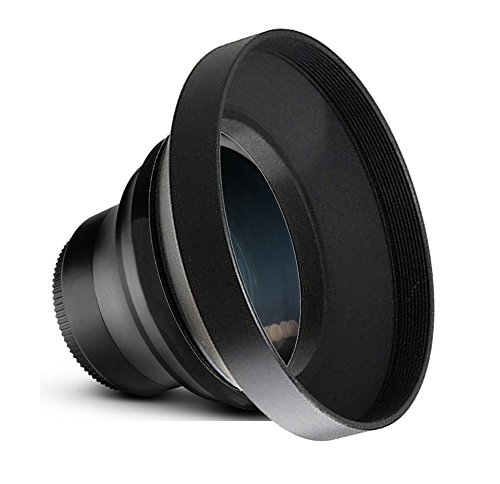 0.43x High Definition Wide Angle Conversion Lens For Panasonic Lumix DMC-LX100 (43mm) by Digital Nc