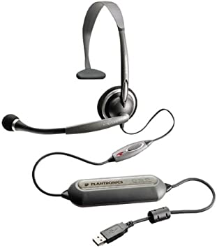 Plantronics Voyager 5200 Office Bluetooth Mono Headset WindSmart Technology Adaptive Microphones IPX4 Voice Control Button NFC Charging Station with USB-A Black