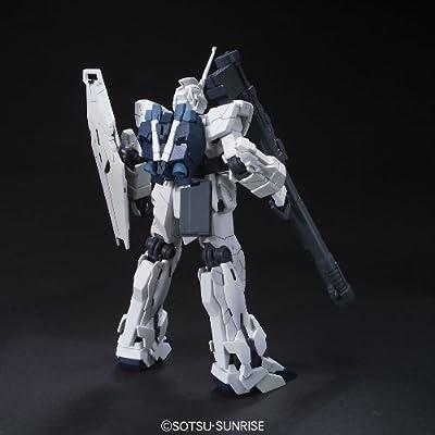 Bandai Hobby #101 RX-0 Unicorn Gundam (Unicorn Mode), Bandai HGUC Action Figure: Toys & Games