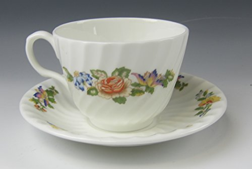Aynsley China COTTAGE GARDEN Cup and Saucer Set(s) EXCELLENT