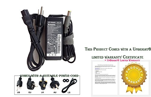 Original IBM & Lenovo 20v 3.25A 65w Replacement AC Adapter for IBM & Lenovo Notebook Models: IBM Lenovo ThinkPad R61i 8933, IBM Lenovo ThinkPad R61i 8934, IBM Lenovo ThinkPad R61i 8935, IBM Lenovo ThinkPad R61i 8936, IBM Lenovo ThinkPad R61i 8937, IBM Lenovo ThinkPad R61i 8943, IBM Lenovo ThinkPad SL300, IBM Lenovo ThinkPad SL300 2738, IBM Lenovo ThinkPad SL400, IBM Lenovo ThinkPad SL410, IBM Lenovo ThinkPad SL410 2842F7U, IBM Lenovo ThinkPad SL500, IBM Lenovo ThinkPad SL510, IBM Lenovo ThinkPad SL510 2847CZU, IBM Lenovo ThinkPad T400, IBM Lenovo ThinkPad T400s, 100% Compatible with Lenovo P/N: 40Y7696, 92P1156, 92P1211, 92P1160, 92P1212.***Free Notebook Parts Outlet Microfiber Adapter Pouch***