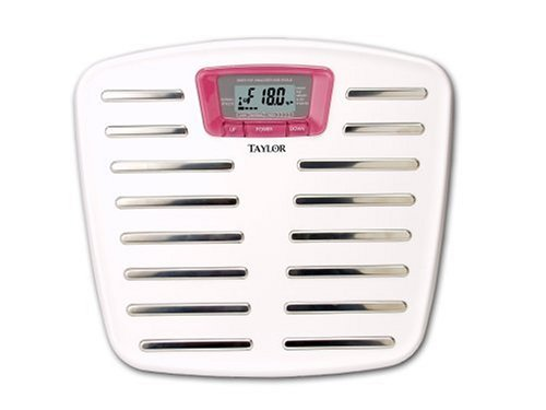 Taylor 5571 Breast Cancer Awareness Body Fat Scale by Taylor Precision Products