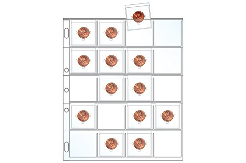 Coin Collector Refill Pack - Coin Flips & Cards Included (Pennies/Dimes) ()