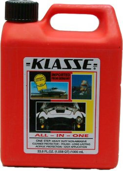 Klasse High Gloss Sealant Glaze - Klasse All In One 33 oz.