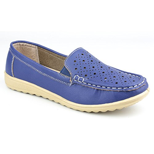 Amblers Shoe Ladies Shoes Cherwell Blue Womens r1rwvx