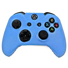 HDE Xbox One Controller Skin Protective Silicone Gel Rubber Grip Cover for Wireless Gaming Controllers (Blue)